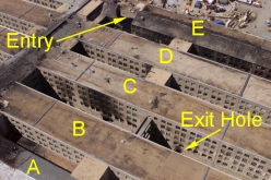 pentagon entry-exit holes