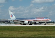 American airlines jet (large photo)