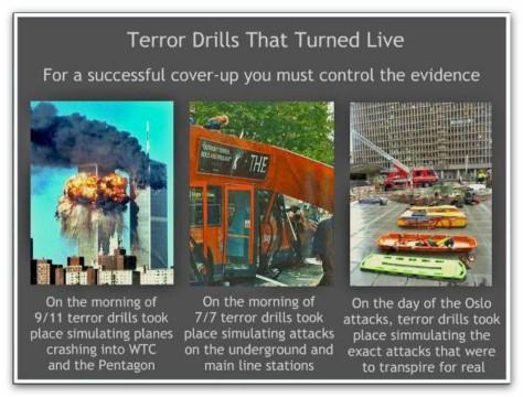 London Terror Drills
