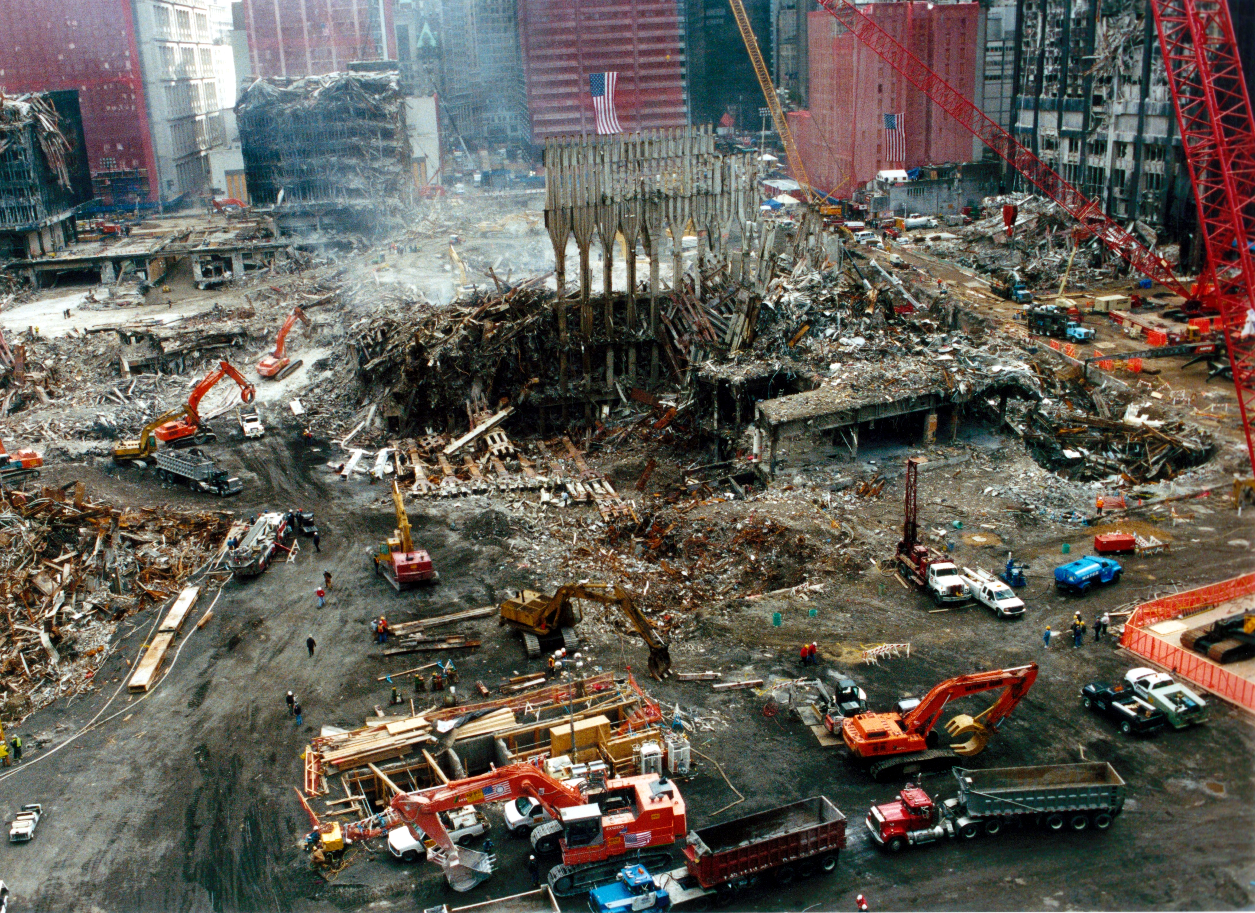 attacks on the pentagon and world trade center created a rude awakening for the airlines industry The damage to the pentagon on september 11 was caused by something other than a hijacked the notion that the pentagon was not damaged by terrorists who hijacked american airlines flight 77 (a recall that when the first airliner was flown into a world trade center tower on september 11.