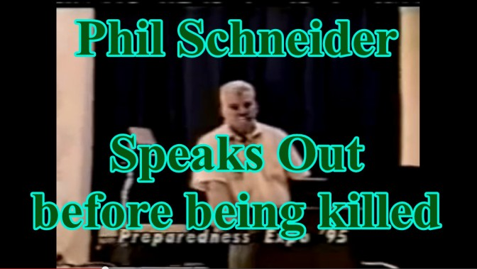 Phil Schneider Speaks Out before being killed
