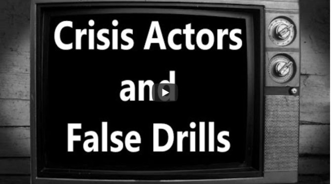 YouTube restricting this video = Crisis Actors and False Drills